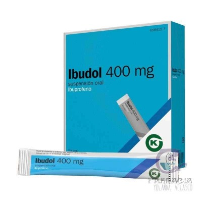 IBUDOL 400 MG 20 SOBRES SUSPENSION ORAL 10 ML