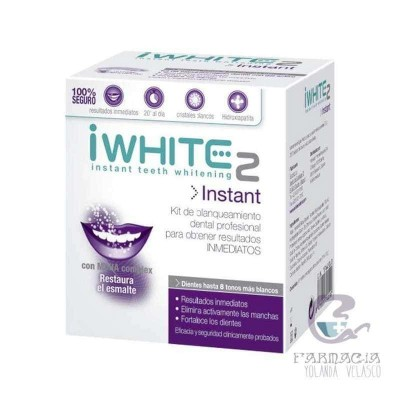 I White Instant Molde Dental Precargado 10 Moldes