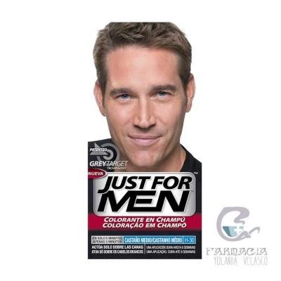 Just For Men Champu Colorante Castaño Medio 30 cc