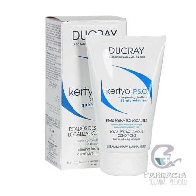 Kertyol PSO Champú Tratante Queratorreductor Ducray 200 ml