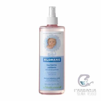 Klorane Bebé Agua Fresca Perfumada 500 ml