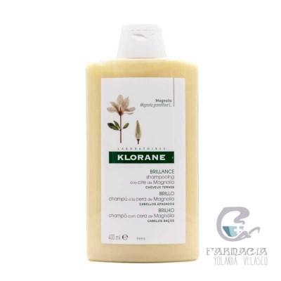 Klorane Champú a la Cera de Magnolia 400 ml