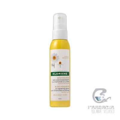 Klorane Cuidado Solar Aclarante Camomila Miel 125 ml