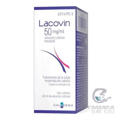 Lacovin 50mg/ml Solución Cutanea 1 Frasco 60 ml