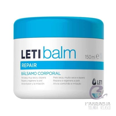 Leti Balm Repair Corporal 150 ml