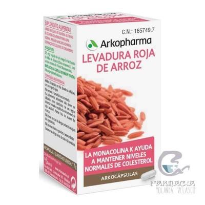 Levadura Roja de Arroz Arkopharma 45 Cápsulas