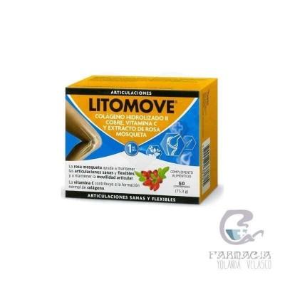 Litomove Colágeno II 60 Comprimidos