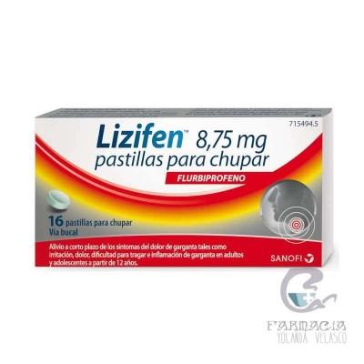 LIZIFEN 8.75 MG 16 PASTILLAS PARA CHUPAR