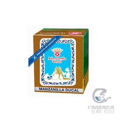 Manzanilla Ducal 1,2 gr 10 Filtros