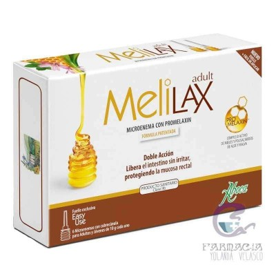 Melilax Microenemas 10 gr 6 Unidades