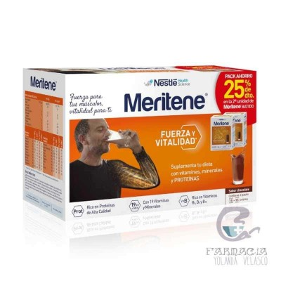 Meritene Chocolate Duplo