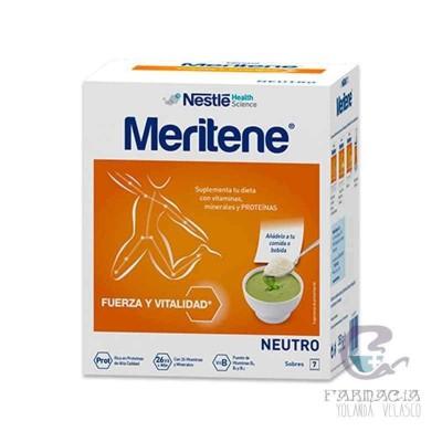 Meritene Neutro al Plato 50 g 7 Sobres Neutro
