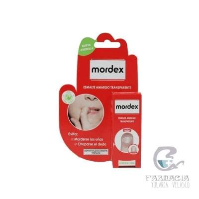 Mordex Esmalte Amargo Transparente 9 ml con Pincel