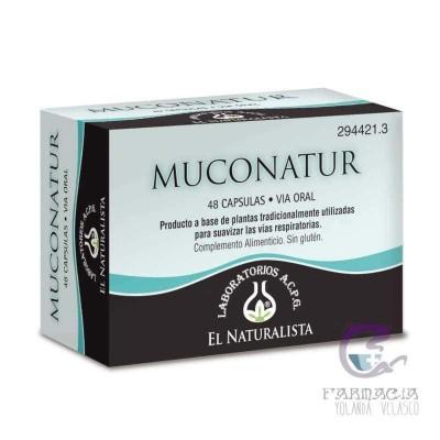 Muconatur El Naturalista 48 Cápsulas