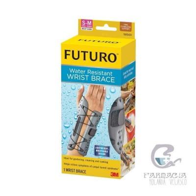 Muñequera Resistente al Agua 3m Futuro Talla S/M Mano Derecha