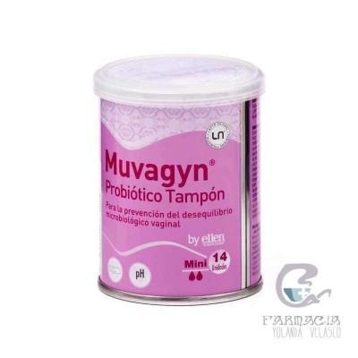 Muvagyn Probiótico Tampón Vaginal Regular