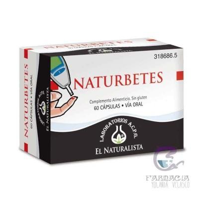 Naturbetes El Naturalista 300 mg 60 Cápsulas