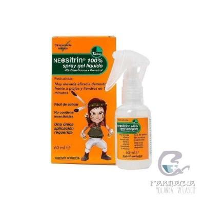 Neositrin 100% Gel Spray 60 ml