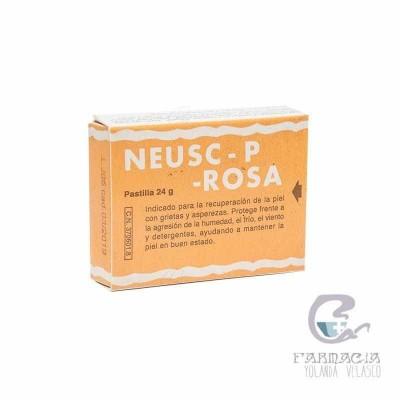 NEUSC-P ROSA PASTILLA GRASA 24 GR