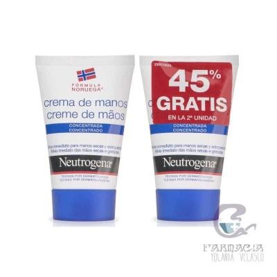 Neutrogena Crema de Manos Concentrada 50 ml 2 Unidades