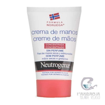 Neutogena Crema de Manos sin Perfume 50 ml