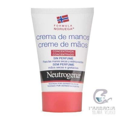 Neutogena Crema de Manos sin Perfume 50 ml
