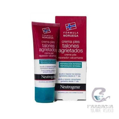 Neutrogena Fórmula Noruega Pies Talones Agrietados 50 ml