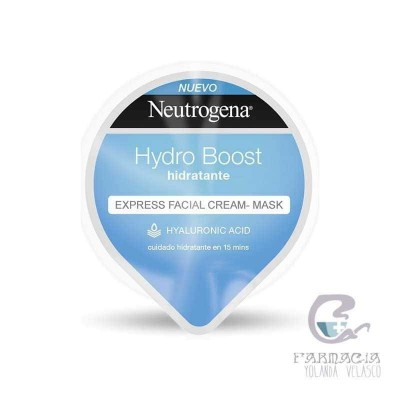 Neutrogena Hydro Boost Express Facial Cream-Mask Hidratante 10 ml