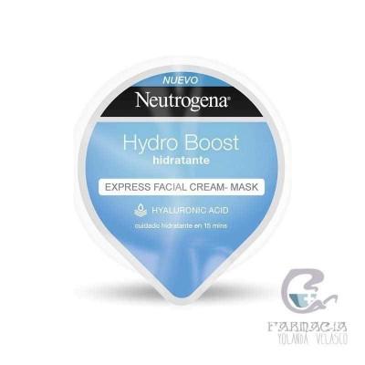 Neutrogena Hydro Boost Express Facial Cream-Mask Hidratante 10 ml