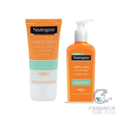 Neutrogena Pack Visibly Clear Hidratante Limpiador