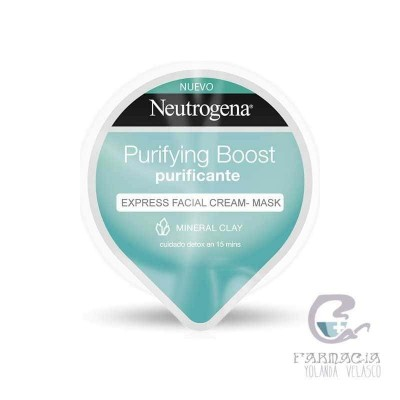 NEUTROGENA PURIFYING BOOST EXPRESS FACIAL CLAY-MASK PURIFICANTE 10 ML