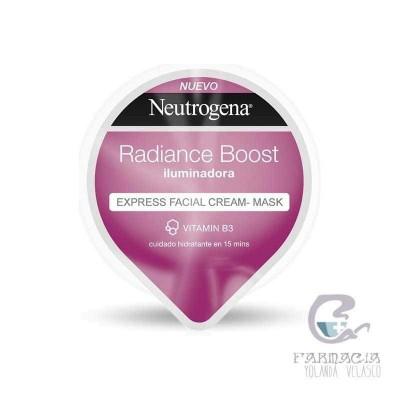 Neutrogena Radiance Boost Express Facial Cream-Mask Iluminadora 10 ml