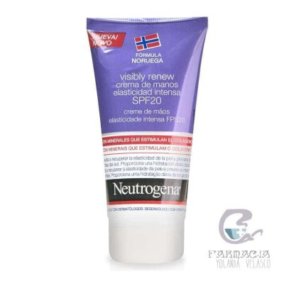 Neutrogena Visibly Renew SPF20 Crema de Manos Antiedad 50 ml