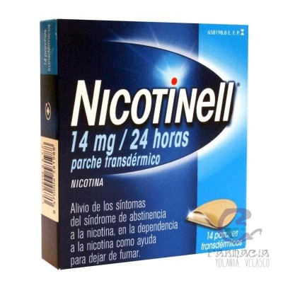 Nicotinell 14 mg/24 h 14 Parches Transdérmicos 35 mg