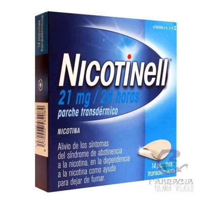 Nicotinell 21 mg/24 h 14 Parches Transdérmicos 52,5 mg