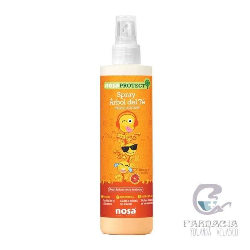 Nosa Spray Desenredante Árbol del Té Aroma Pomelo 250 ml
