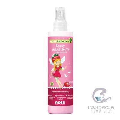 Nosa Spray Desenredante Árbol del Té Rosa 250 ml
