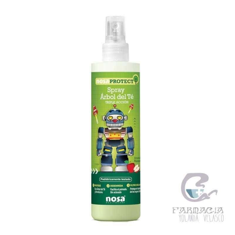 Nosa Spray Desenredante Árbol del Té Verde 250 ml