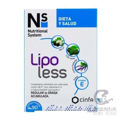 NS Lipoless 90 Comprimidos