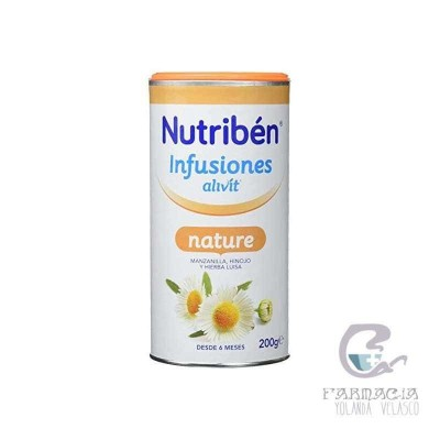 Nutriben Infusión Alivit Nature 200 gr