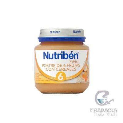 Nutriben 6 Frutas y Cereales Inicio 130 gr