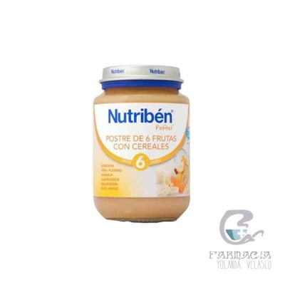 Nutriben 6 Frutas y Cereales Junior 200 gr