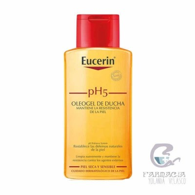 Oleogel de Ducha Eucerin Piel Sensible pH-5 200 ml