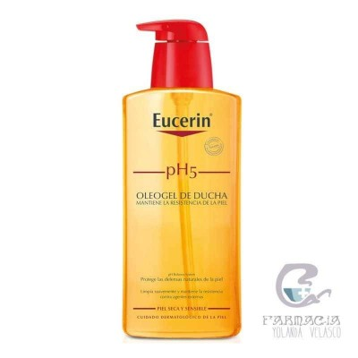 Eucerin Oleogel de Ducha Piel Sensible pH-5 400 ml
