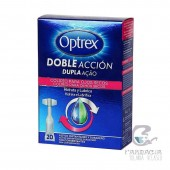 Optrex Doble Acción Ojo Seco 20 Monodosis