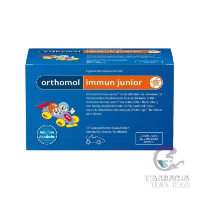 Orthomol Junior C Plus Granulado Directo 7 Raciones