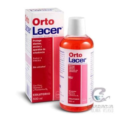 Colutorio Fresa Ortolacer 500 ml
