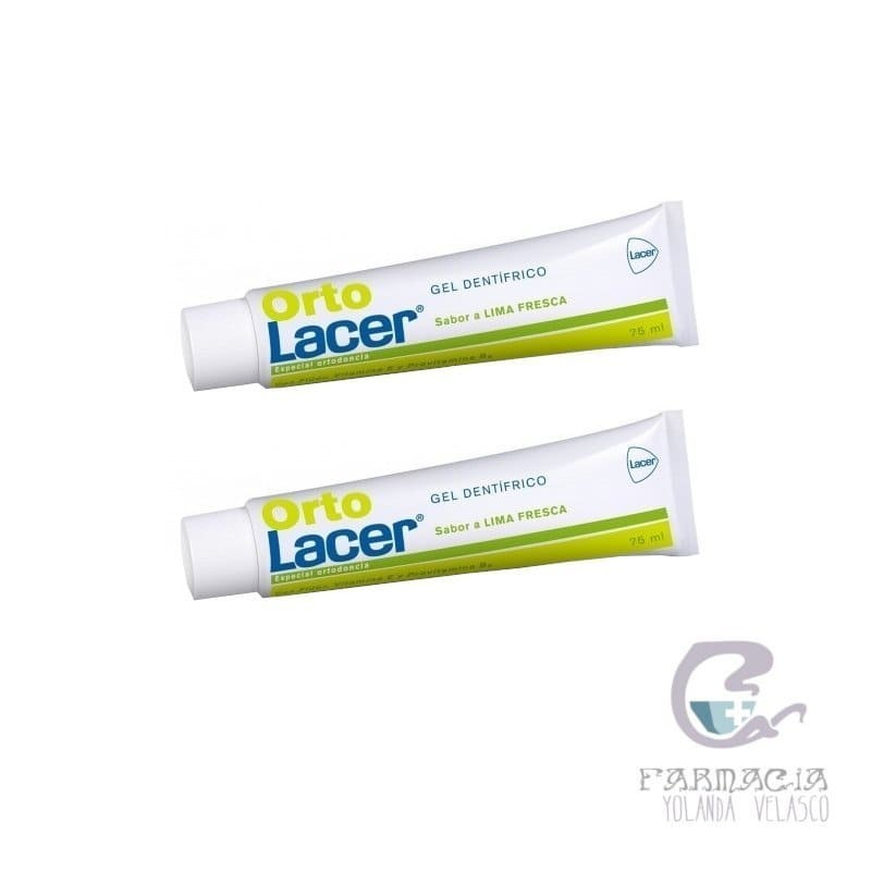 Ortolacer Gel Lima 2x75 ml
