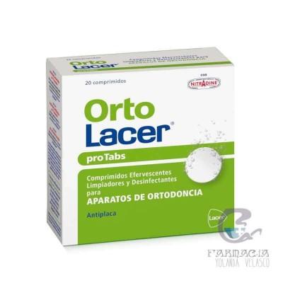 Ortolacer Protabs 20 Comprimidos Limpiador y Desinfectante