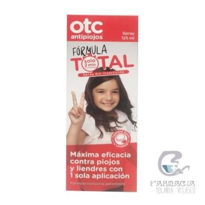 Otc Antipiojos Fórmula Total 125 ml